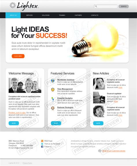html 5 template 20 html5 templates web3mantra