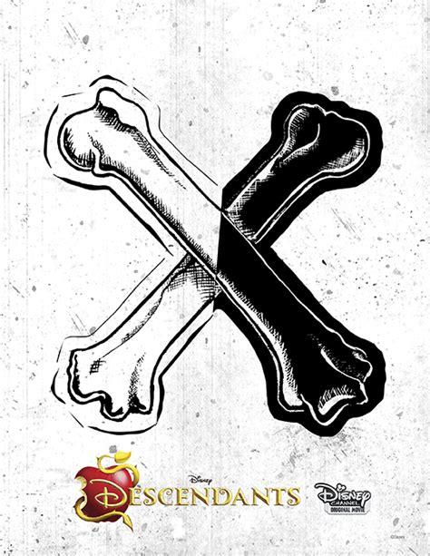 logos emblemas de los descendientes todo peques