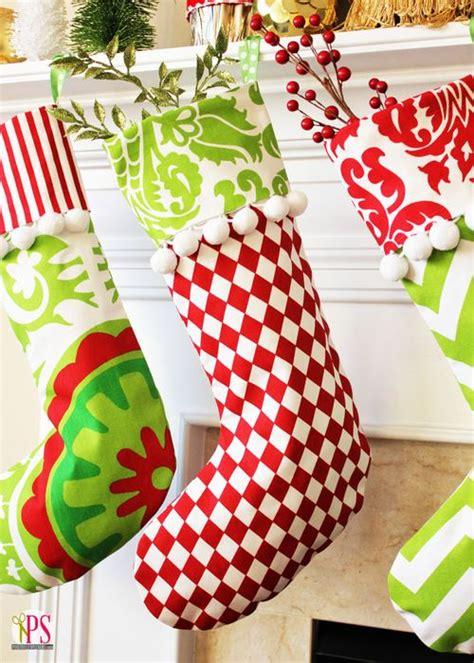 xmas stocking pattern ideas 50 beautiful christmas stocking ideas and inspirations