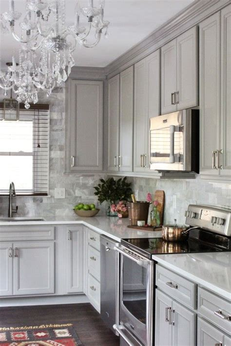 gray cabinet kitchen 17 best images about fresh neutrals on pinterest shaker