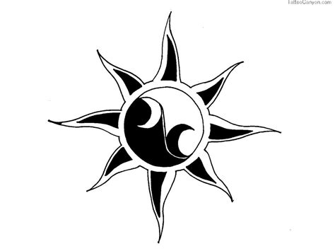 simple sun tattoo designs simple tattoos designs clipart best