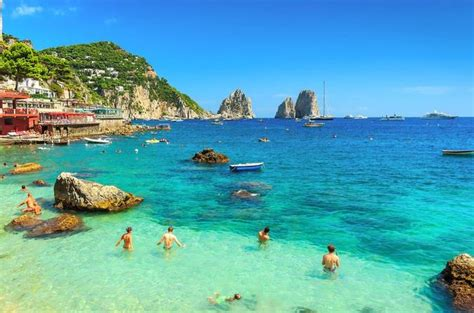 best beaches in sorrento and blue grotto day tour from naples or sorrento