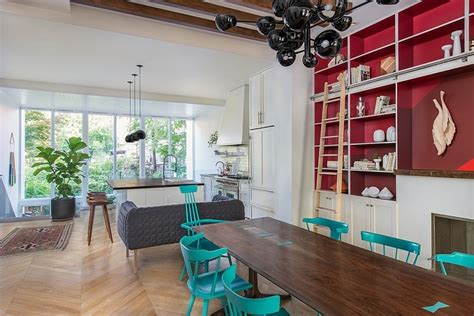 brooklyn home design blog interior envy colorful bklyn brownstone the native new