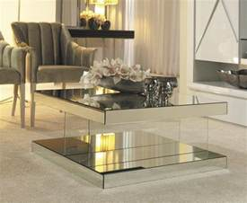 mirrored coffee table design images photos pictures