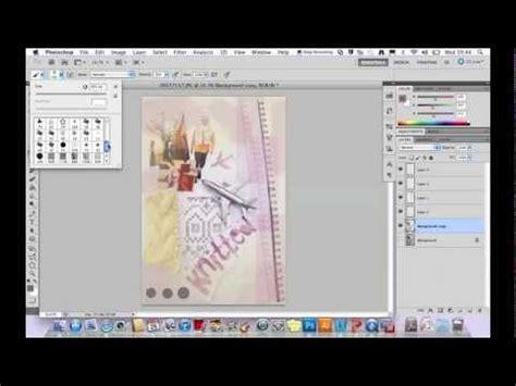 tutorial photoshop resume tutorial creating a visual cv using photoshop youtube