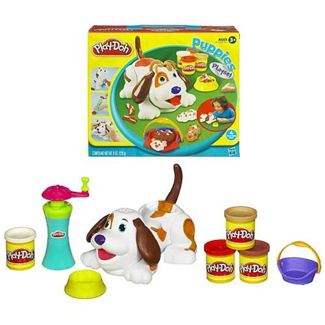 play doh puppies play doh puppies playset hasbro play doh creative toys at entertainment earth