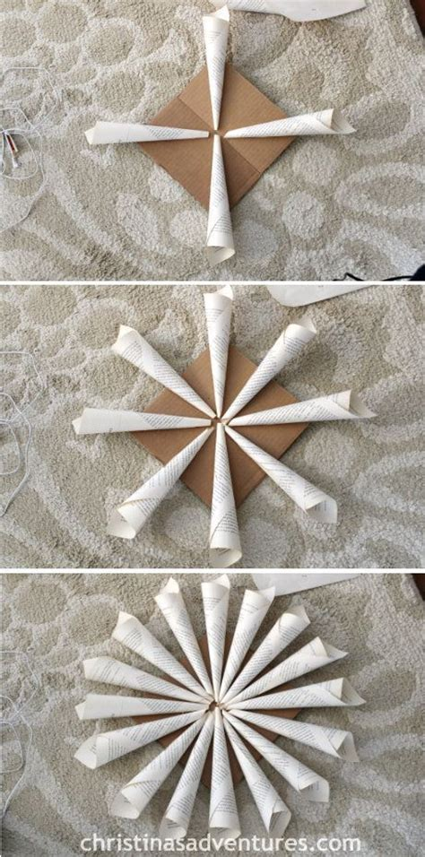 rolled paper flower garland tutorial 2178 best images about book page crafts on pinterest