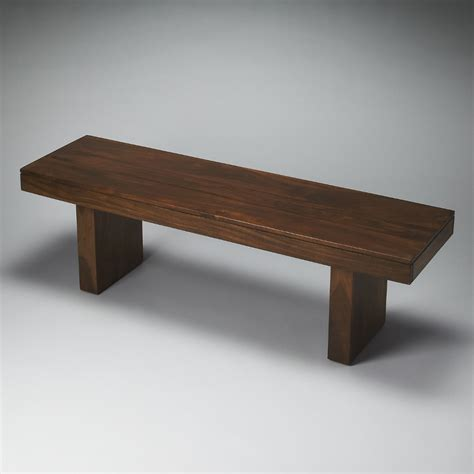 solid wood bench butler loft hewett solid wood bench