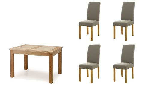 Dining Table Sets With Fabric Chairs Bethany Small Extending Dining Table 4 Charcoal Fabric Chairs Dining Table Sets Fishpools