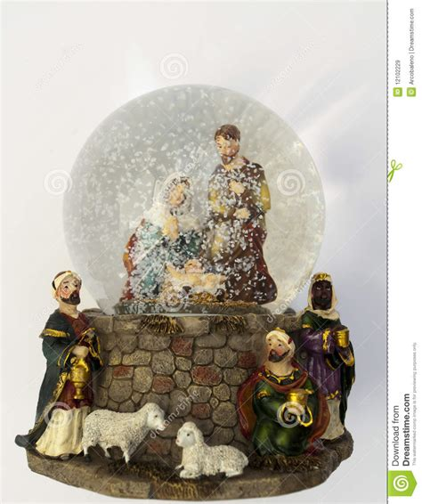 christmas snow dome royalty free stock images image