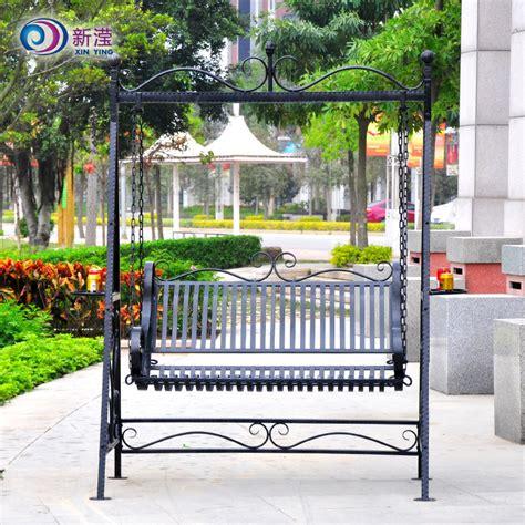 iron garden swing wrought iron patio swing icamblog