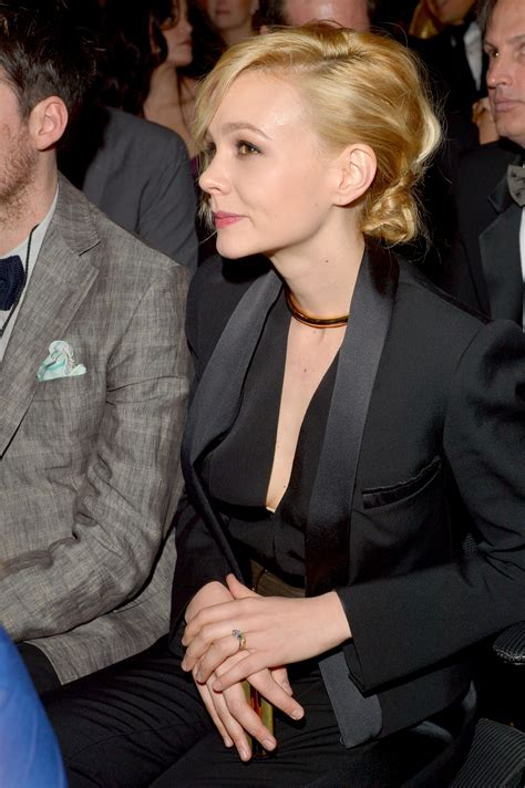 carey mulligan was on hand to support husband marcus