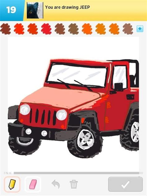 jeep front drawing lifted jeep drawings