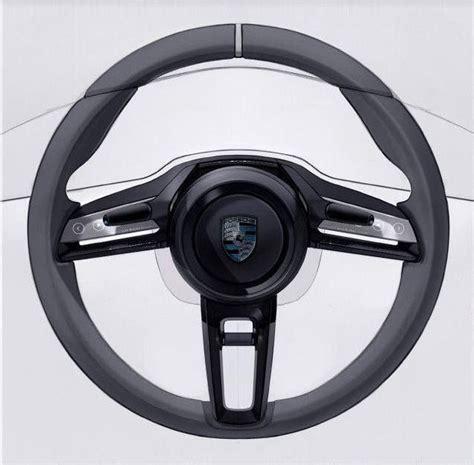 porsche mission e wheels porsche mission e steering wheel front interior