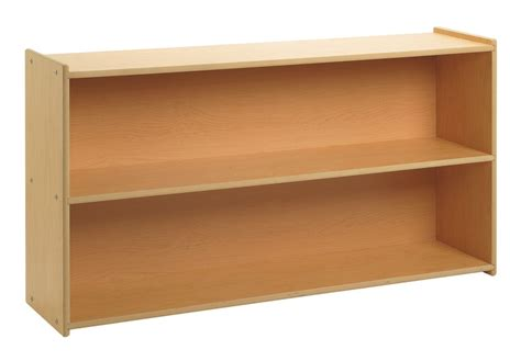 2 Foot Bookshelf Angeles Value Line 4 Wide 2 Shelf Storage Aaa State