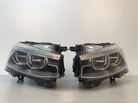 bmw headlights bmw x3 x4 series f25 f26 facelift lci 2014 full led