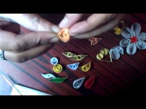 paper quilling tutorial youtube paper quilling basic shapes yasmin hjr youtube