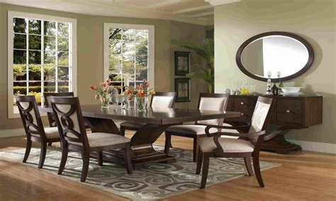 formal dining room light oak finish table chairs