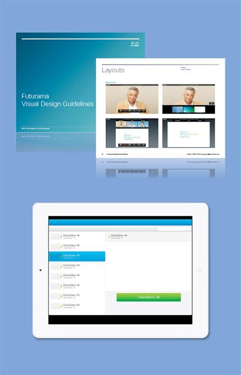 application design standards cisco user experience design standards on behance