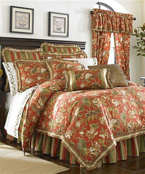 red and gold comforter sets details about j queen castille red gold green 4p king