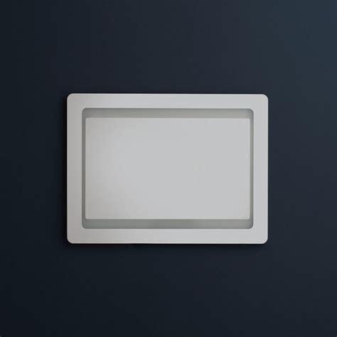 cornice 60x80 specchiera bagno retro illuminata led 60x80 kv store