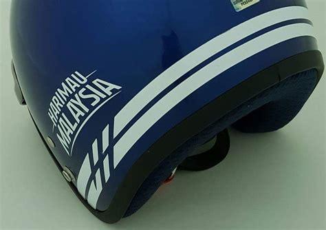 Nma Kemeja Biru Putih Edisi July motomalaya usikan helmet edisi khas sgv harimau malaysia 2016 tunjukkanbelangmu