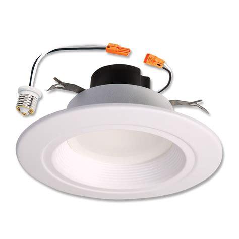 5 inch led recessed light retrofit halo 5 inch 6 inch led retrofit baffle trim white