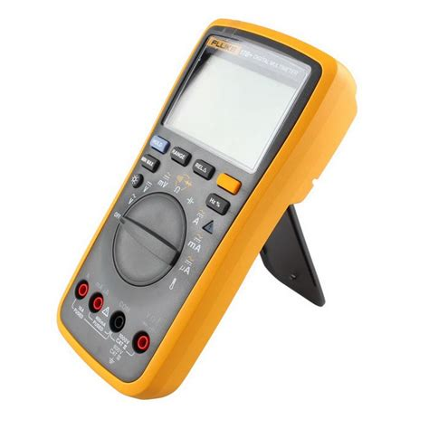 Fluke 17b Multimeter Digital original fluke 17b f17b professional digital multimeter measuring tool us 110 53