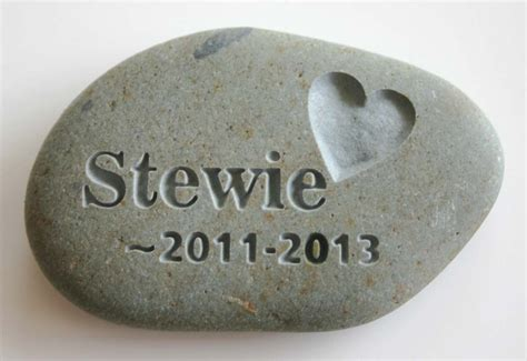 memorial stones for dogs custom engraved pet memorial cat pet by monkeysjewels