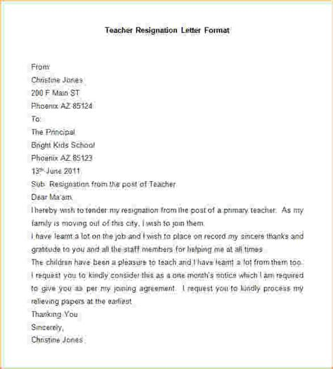 Resignation Letter For Lecturer Post Pdf Format For Resignation Letter Sle Resignation Letter Format Jpg Pay Stub Template