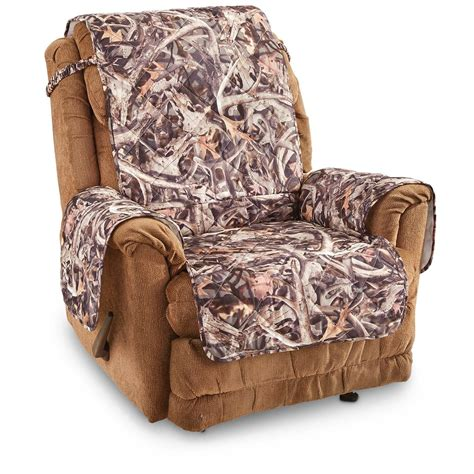 Camouflage Recliner Cover by Castlecreek Next Camo Furniture Cover 654906 Furniture