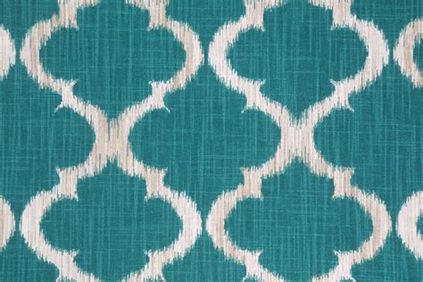 Teal Drapery Fabric richloom printed cotton drapery fabric in teal