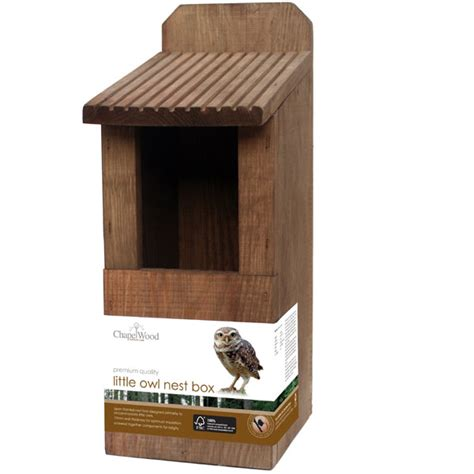 owl boxes chapelwood owl nest box in fsc pine on sale fast