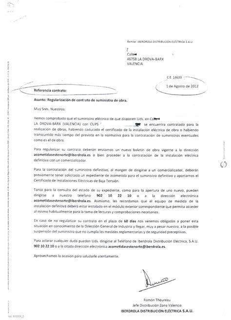 Complaint Letter Electricity Problem On Builder S Electricity In Spain You A Problem That Needs Solving Fast Gandia Lawyers