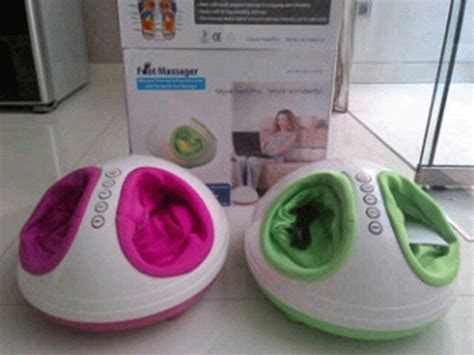 Dijamin Foot Shiatsu Alat Pijat Kaki 3d Refleksi foot shiatsu 3d massager alat pijat refleksi kaki elektrik pencegah penyakit