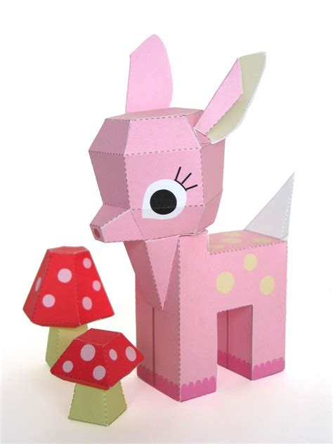 Free Printable Paper Crafts - craft tutorials handmade toys printable crafts