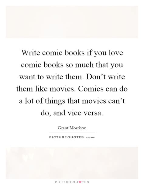 for so loved you books write comic books if you comic books so much that you