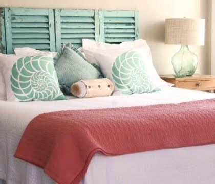 beachy headboard ideas super easy diy headboard ideas completely coastal