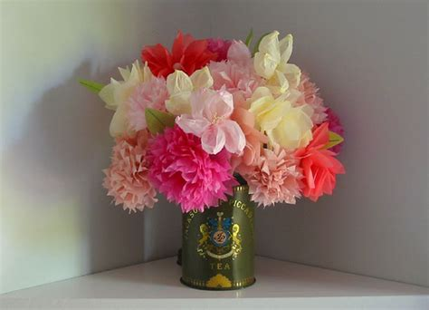 Martha Stewart Crafts Paper Flowers - martha stewart tissue paper flowers flickr photo