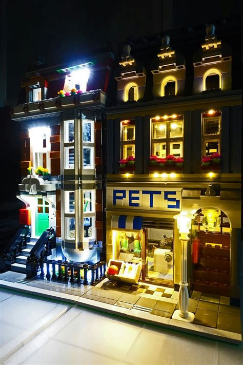 Light Up Kit Led Brick Set For Lepin 15011 Detective Diskon 1 led lighting kit for lego 174 pet shop 10218 by brick loot