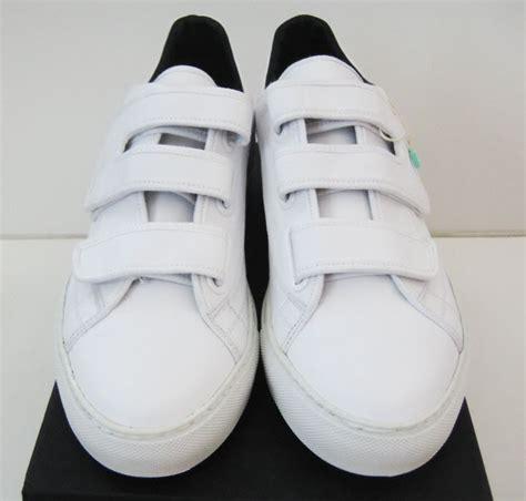raf simons velcro low top shoes