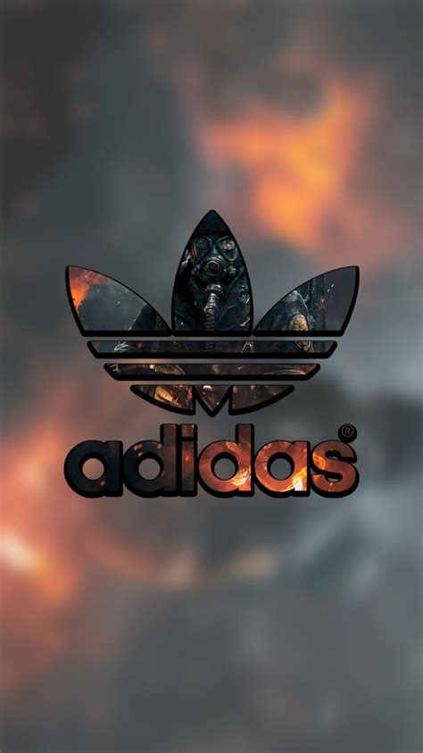 wallpaper iphone 6 adidas adidas lock screen logo wallpaper for iphone by