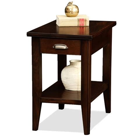 amazon table amazon com leick laurent recliner triangle end table