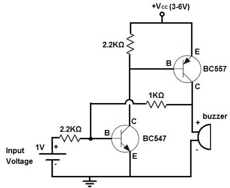 bc557 transistor projects how to build an alarm circuit with transistors