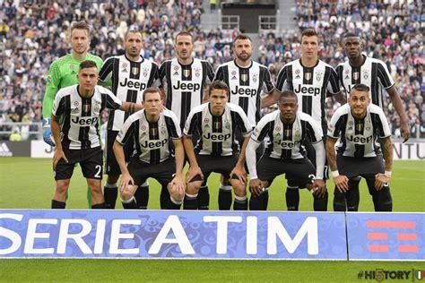 Juventus Original 2 on pitch juventus 16 17 home kit footy headlines