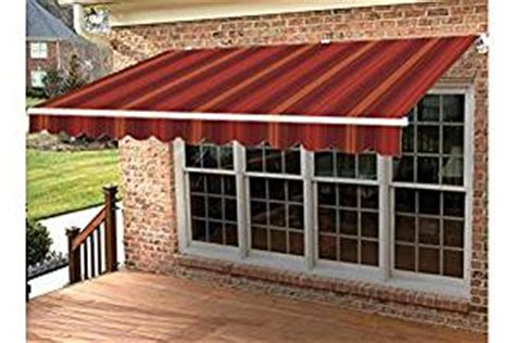 amazon awnings amazon com taylor made retractable awning 14 w x 10 l