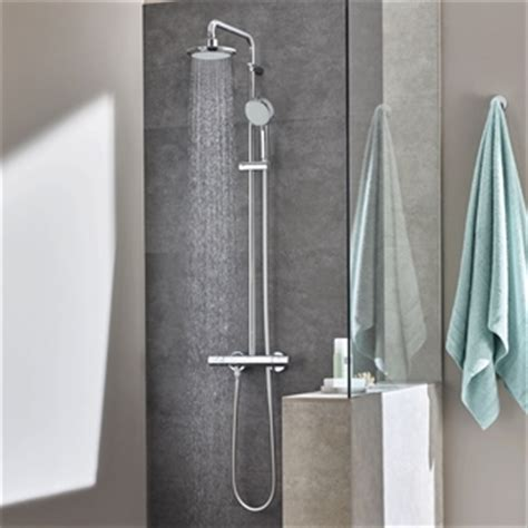 Badewanne Duschvorhang 320 by Grohe Dusjs 248 Yle Og Dusjpanel Et Dusjsystem Til Boligen Din