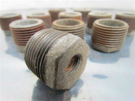 Bushing 12 X 14 Drat Class 150 hex bushing galvanized pipe reducer 1 x 1 2 quot npt malleable iron class 150 lot 11 ebay
