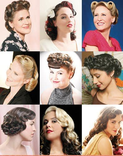 50s Pin Up Hairstyles by 50s Hairstyles Ideas Yve Style