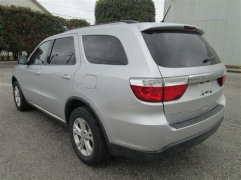 dodge durango 3rd row seating purchase used 2011 dodge durango express no reserve drives